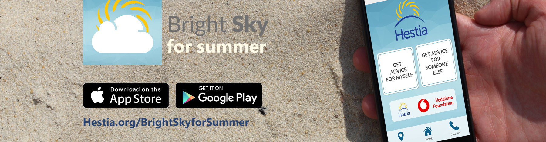 Download Bright Sky today on iOS and Android