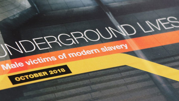 Underground Lives: Male Victims of Modern Slavery