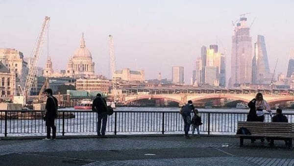 #ArtIsFreedom photography exhibition London skyline