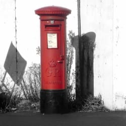 Photography Cards: Post Box